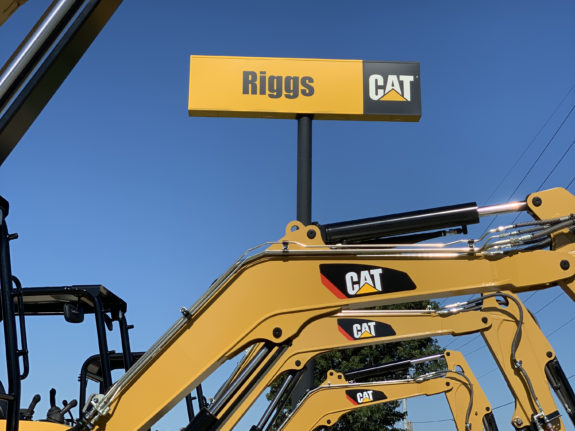 Riggs Cat Sign