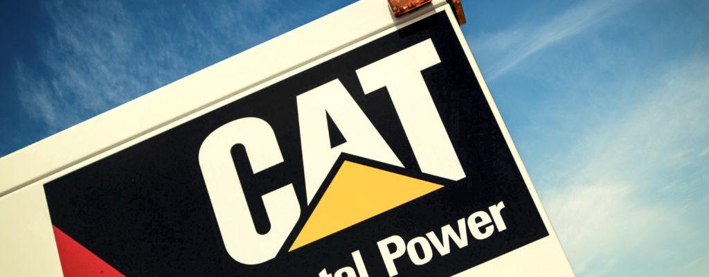 Cat rental generator
