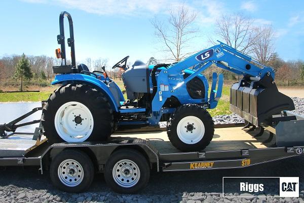 ls mt350E tractor