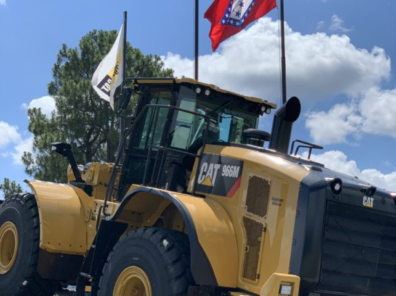 Riggs Cat Equipment with Flags