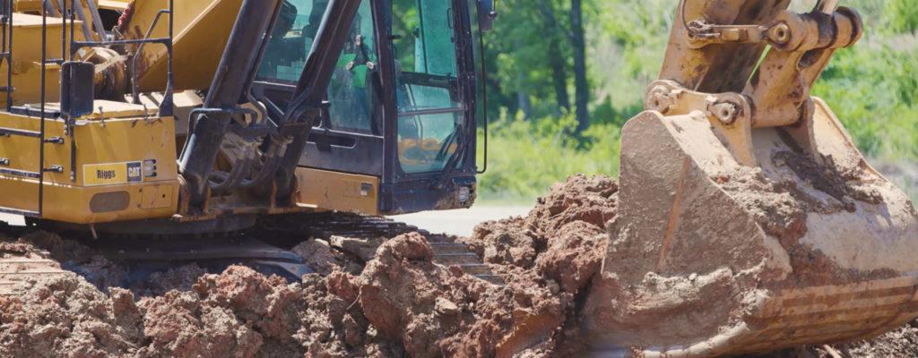 Photo of a excavator
