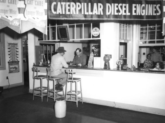 1930s Service Counter