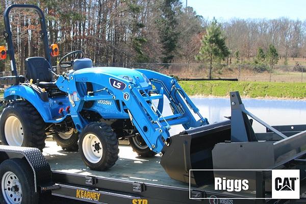 ls xj2025 tractor